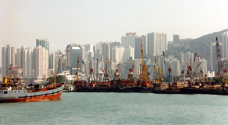 Hafen Hongkong