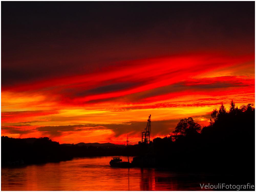 Hafen im Abendlicht