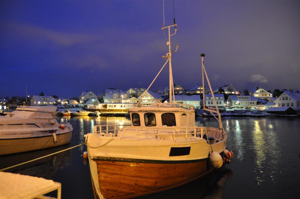 Hafen im Winter 2