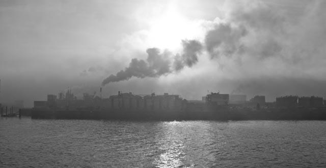 Hafen in Black