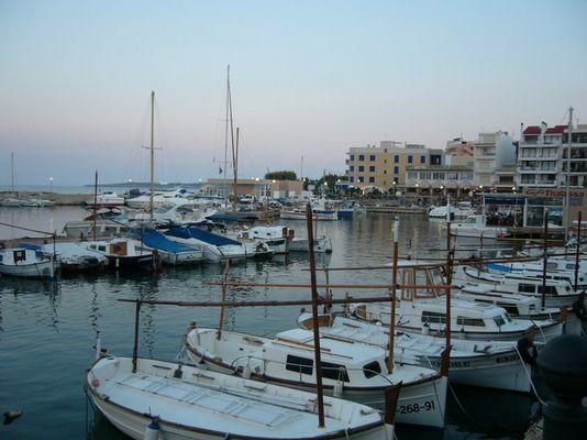 Hafen in Cala Bona