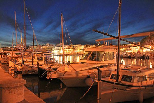 Hafen in Cala Ratjada, Mallorca