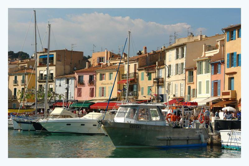 Hafen in Cassis