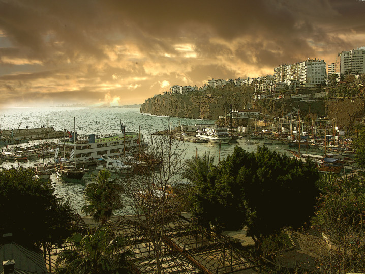 Hafen in der Türkei