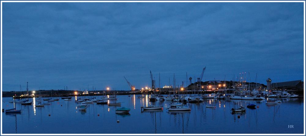 Hafen in Falmouth / Englang / Cornwall