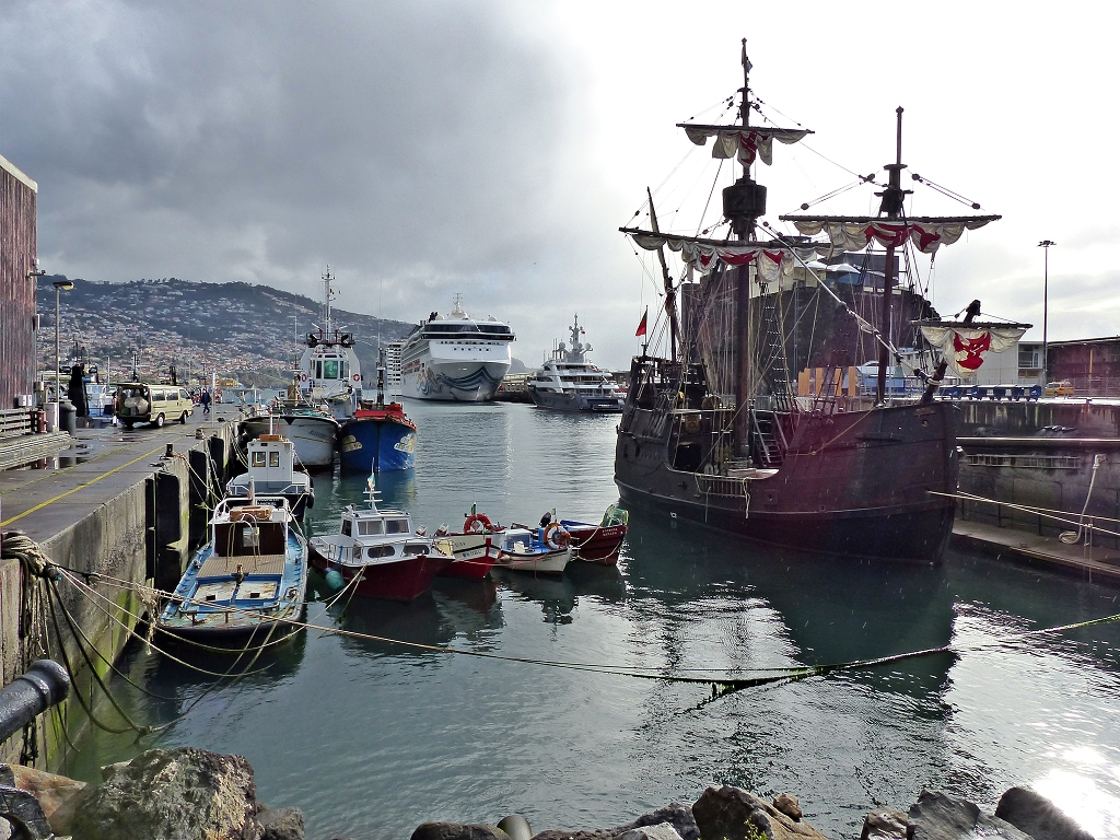 Hafen in Funchal