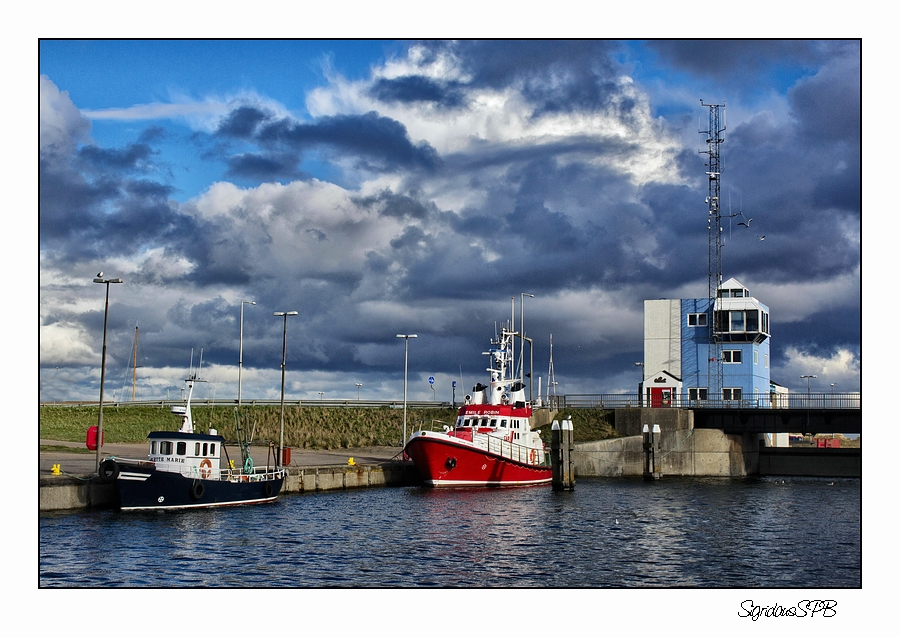 Hafen in Hvide Sande DK