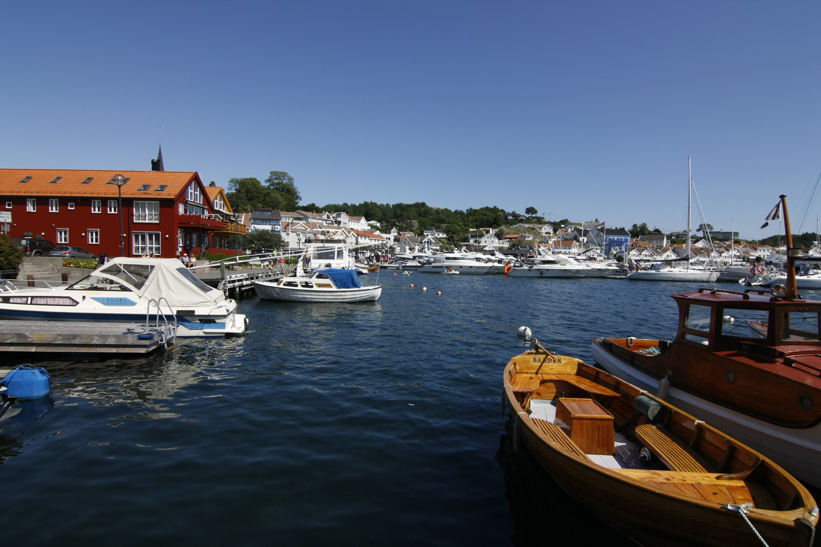 Hafen in Lillesand