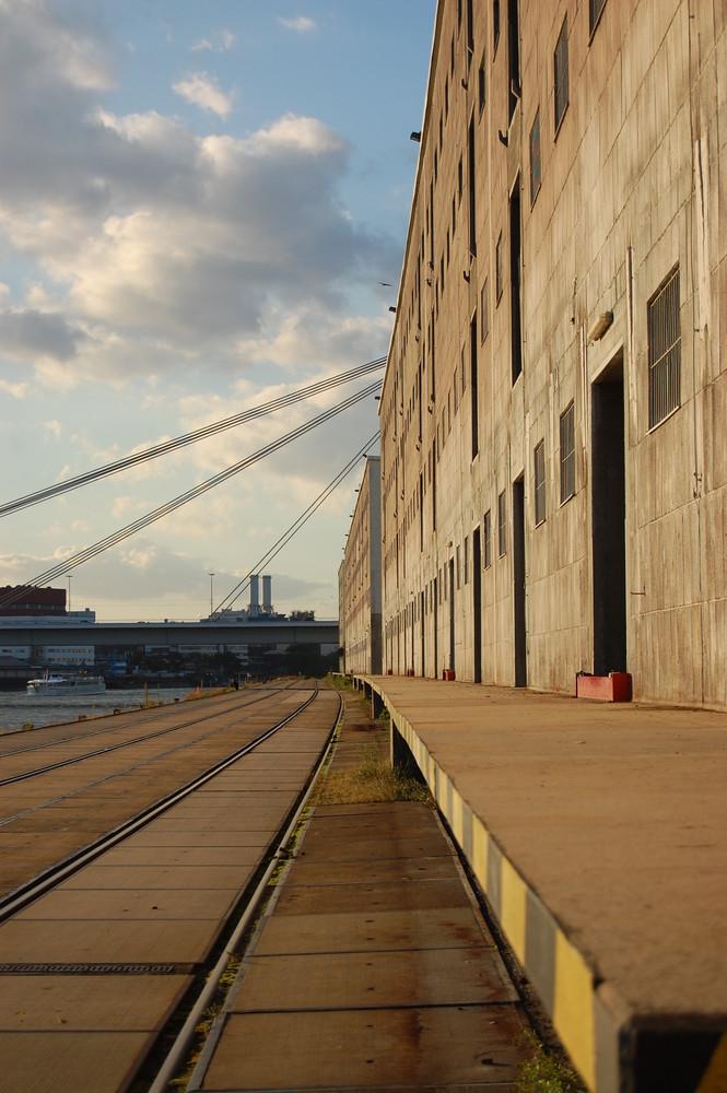 Hafen in Mannheim
