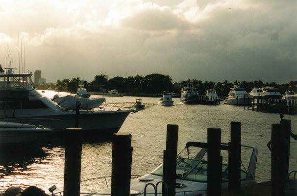 Hafen in Miami, Florida