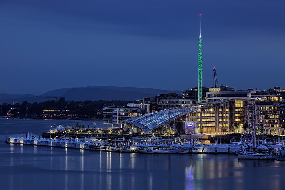 Hafen in Oslo