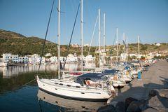 Hafen in Pali, Insel Nisiros, Griechenland