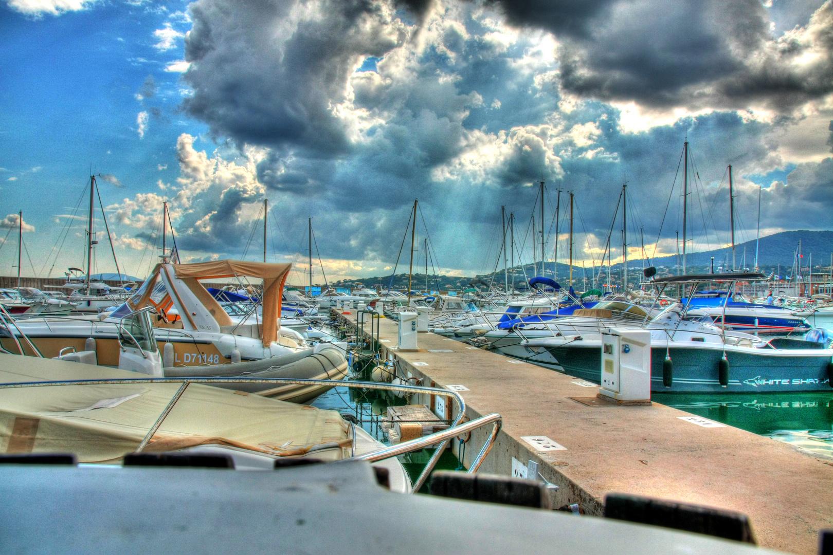 Hafen in St.Maxim