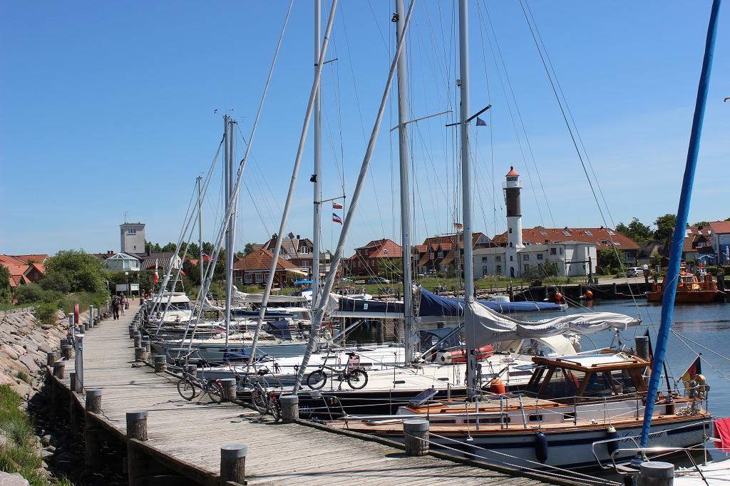 Hafen in Timmendorf