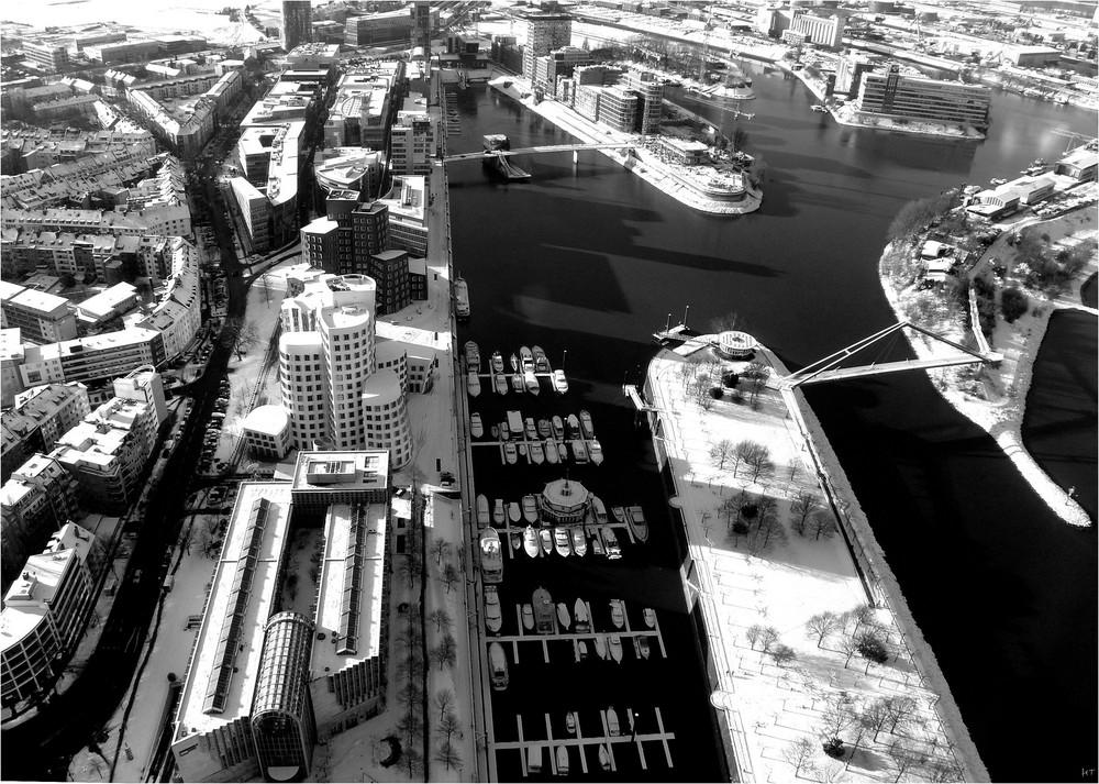 Hafen in Weiss
