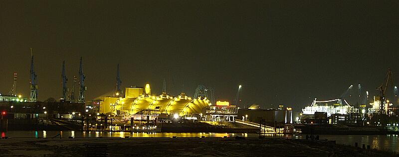 Hafen Industrie @ Night 2