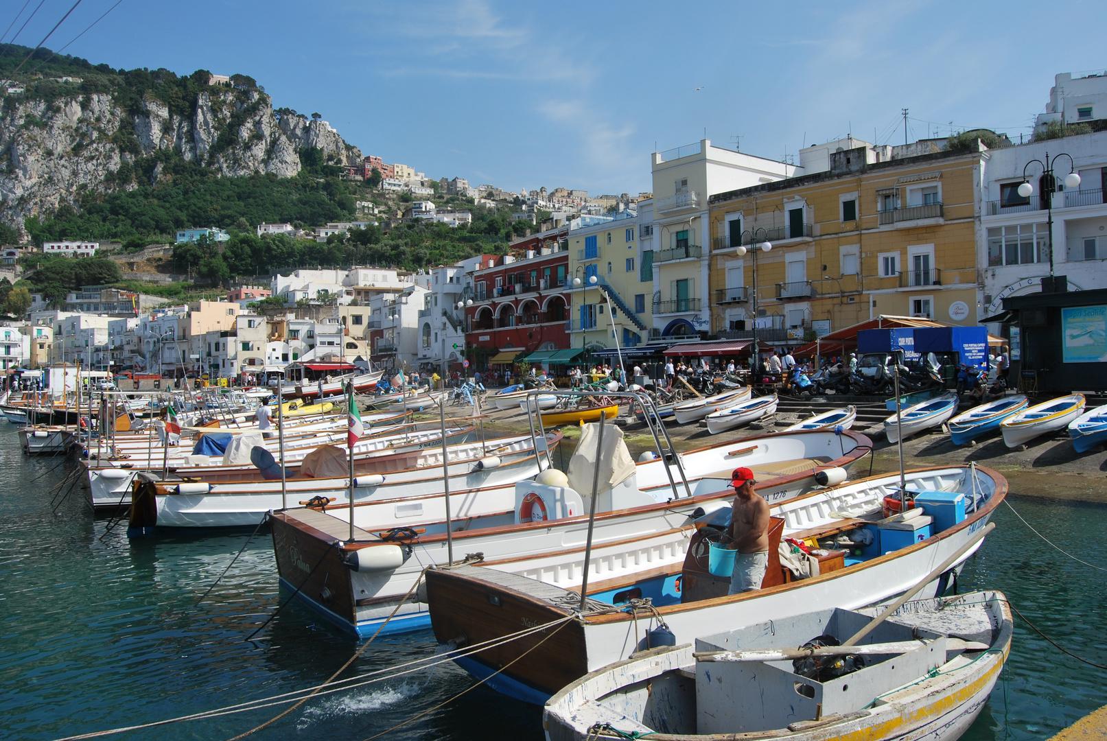 Hafen Insel Capri