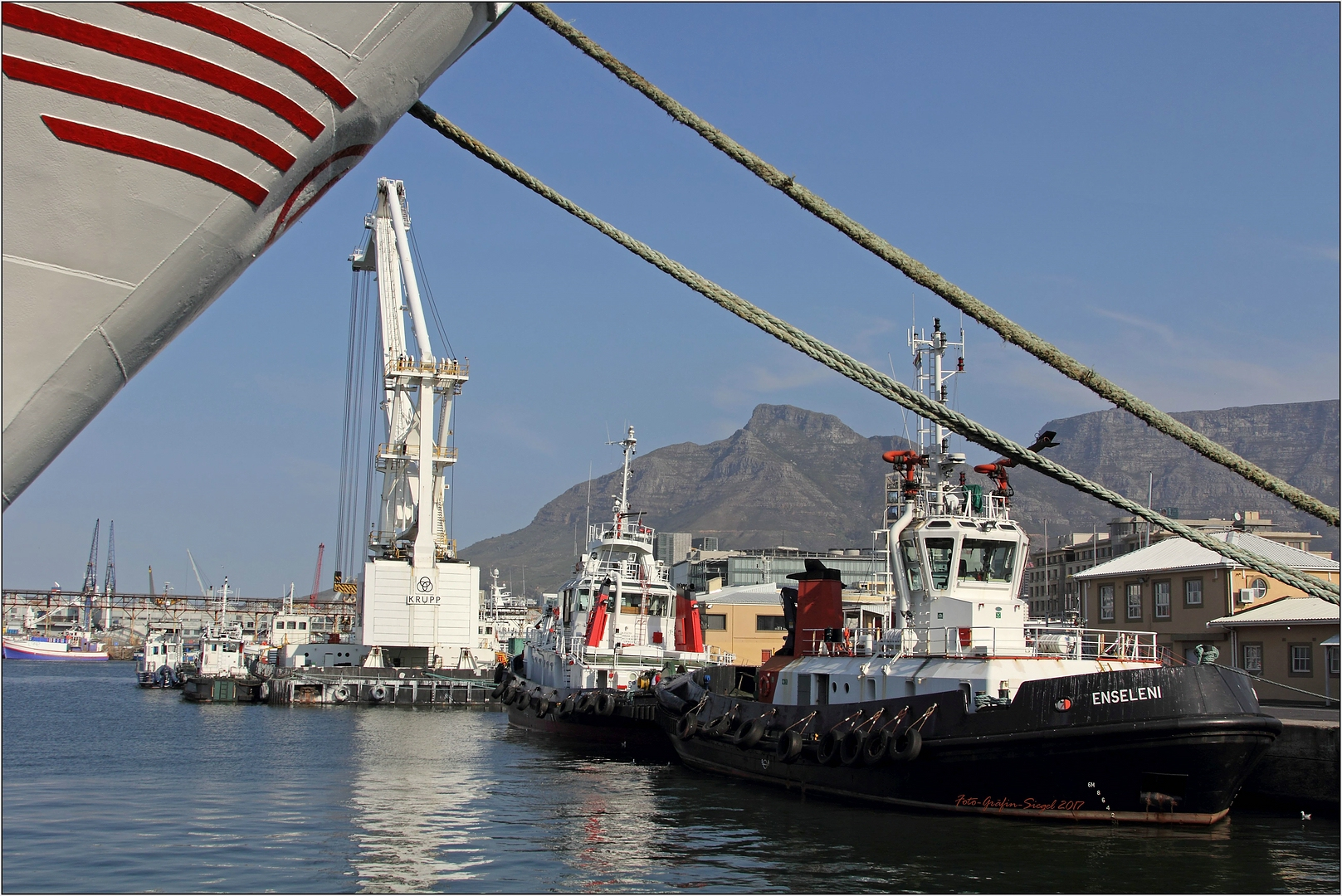 Hafen Kapstadt V&A Waterfront ...