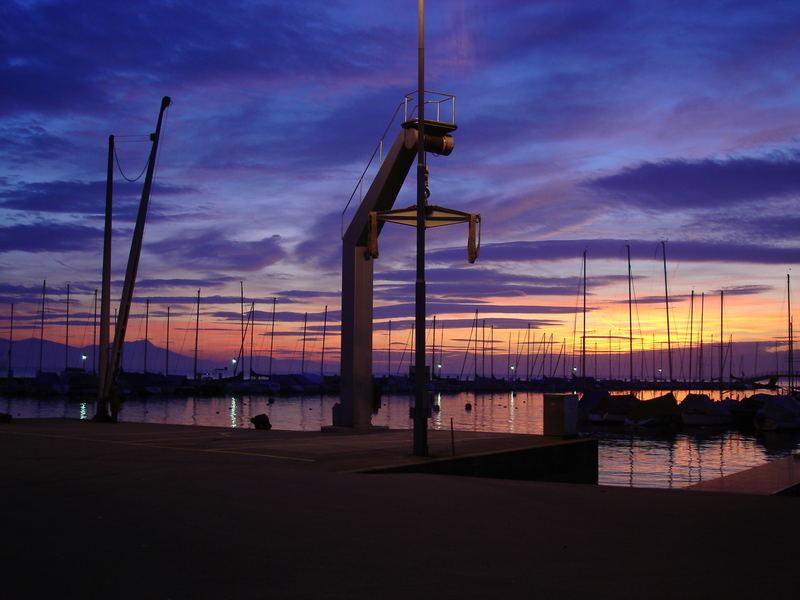 Hafen Lausanne