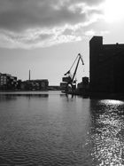 Hafen - Münster am Morgen