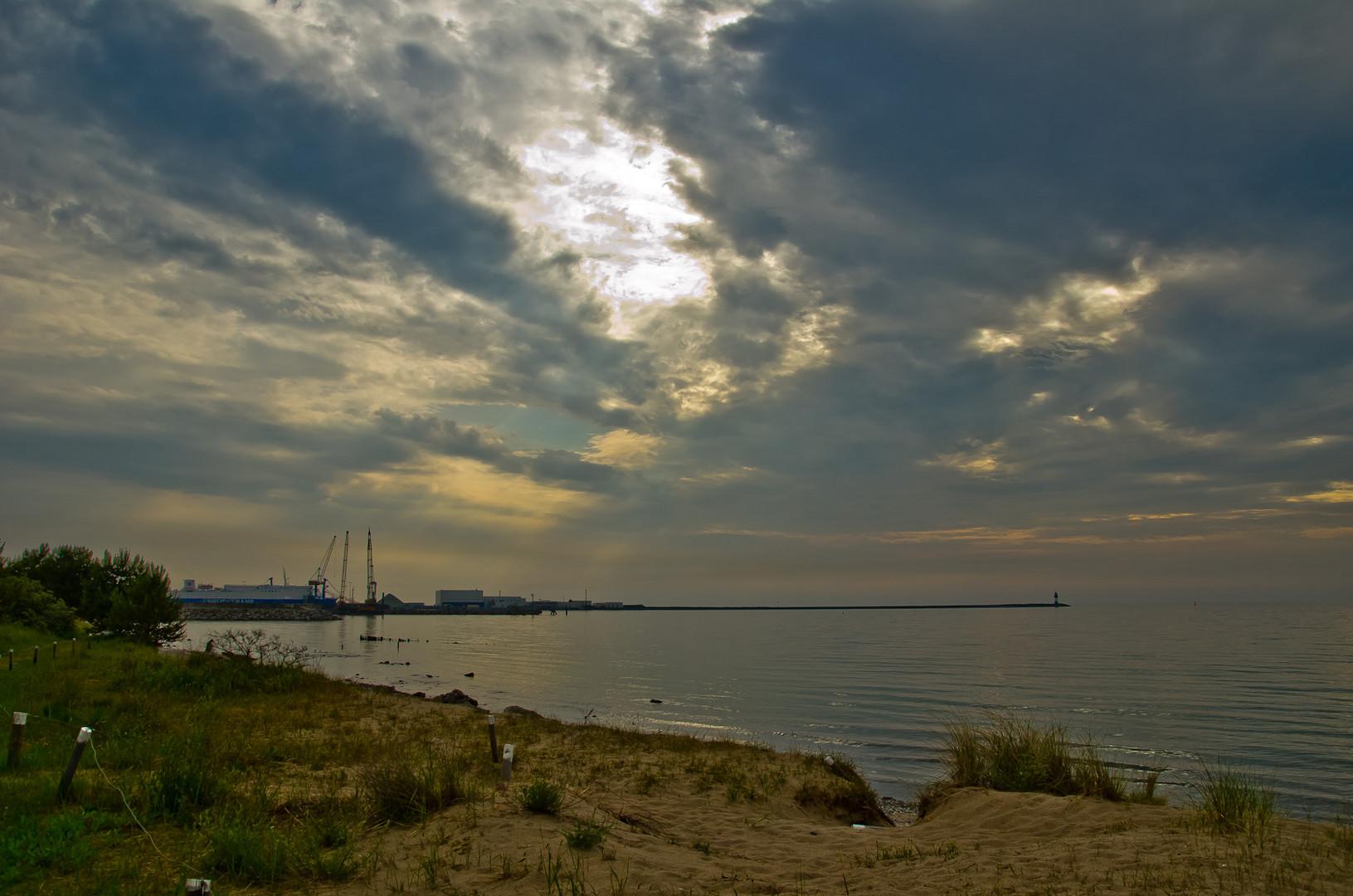 Hafen Mukran auf Rügen