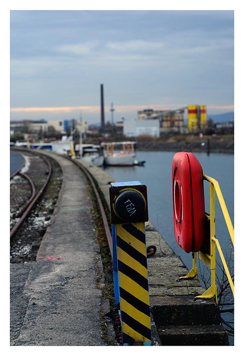 Hafen Offenbach - die Reste...