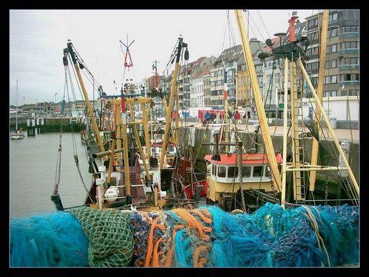 Hafen Ostende