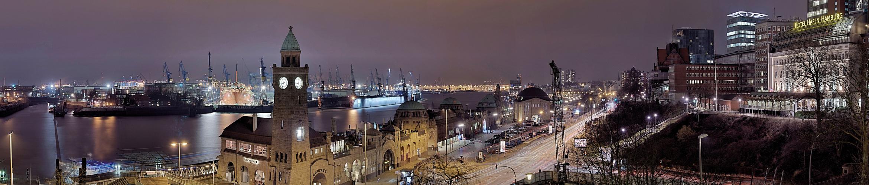 * Hafen Panorama *