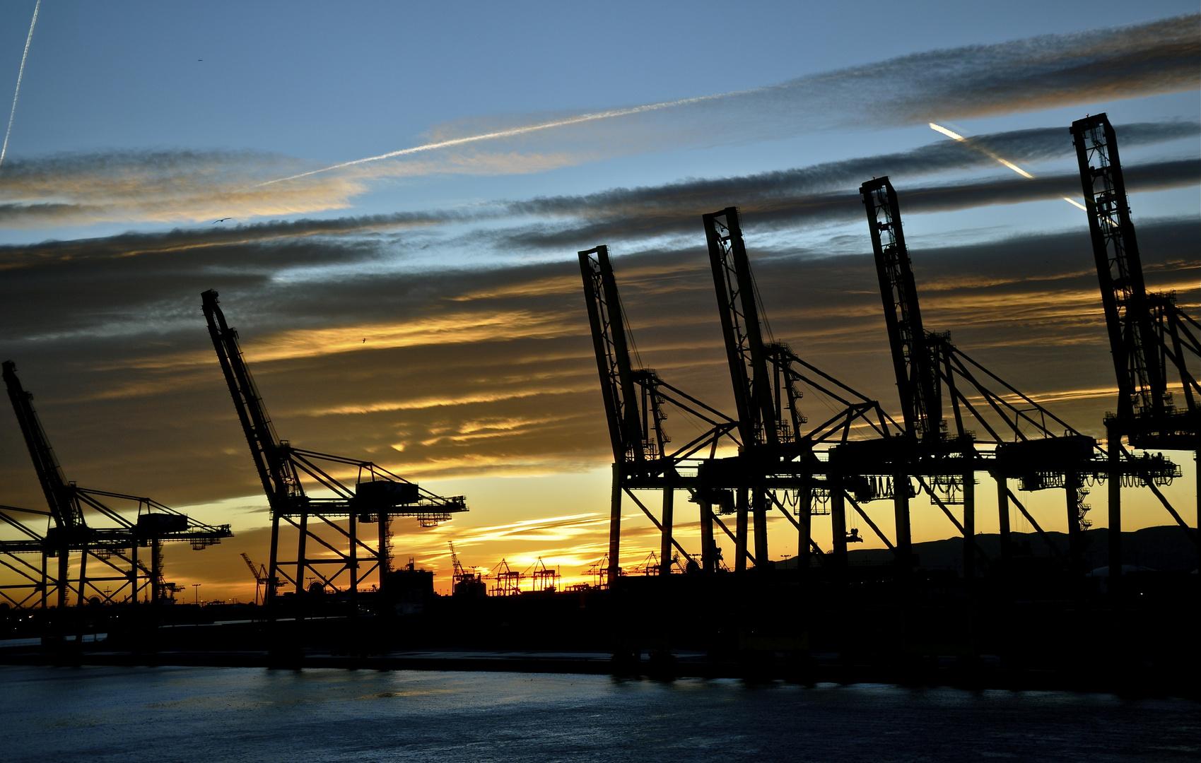 Hafen Port Vell in Barcelona