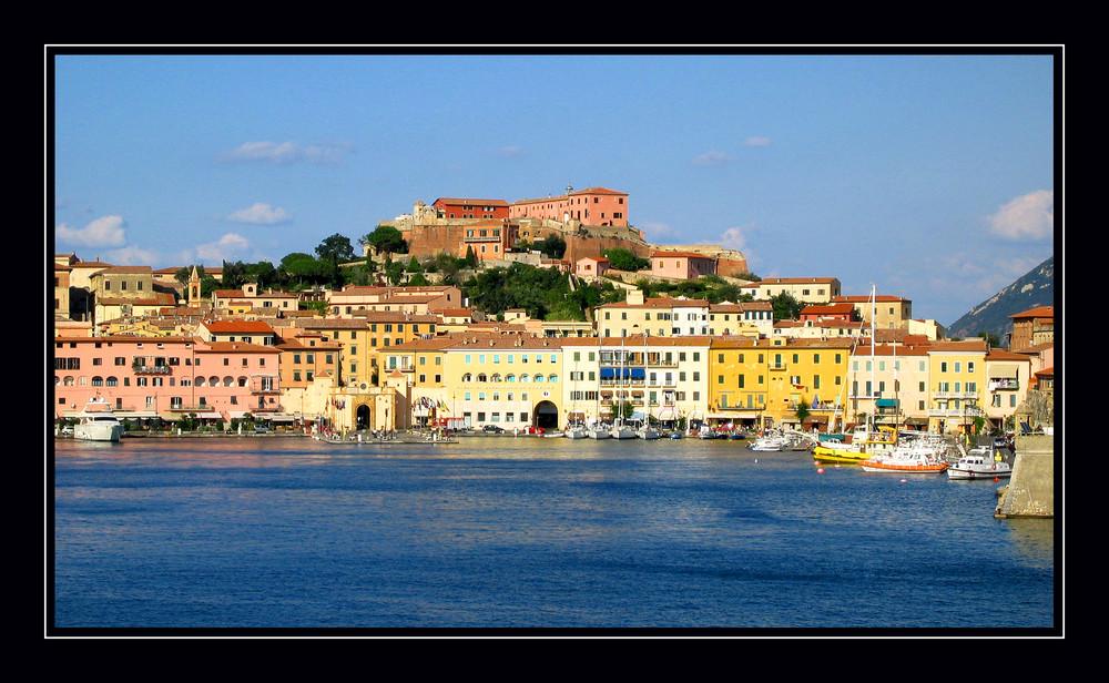 Hafen Portoferraio Insel Elba