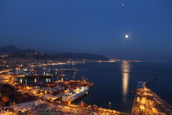 Hafen Salerno