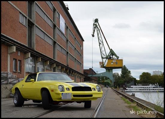 Hafen- Shooting....mit einem camaro!