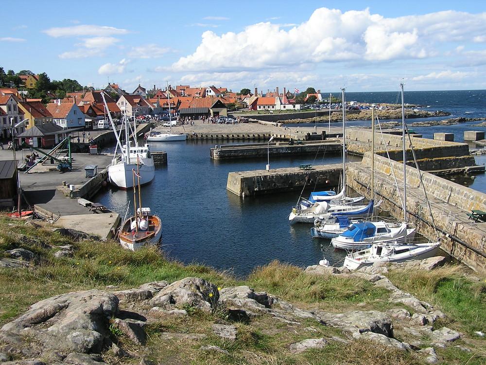 Hafen Svaneke Bornholm
