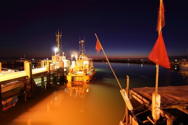 Hafen timmendorf bei Nacht