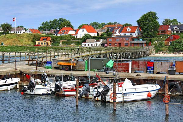 Hafen von Arnager