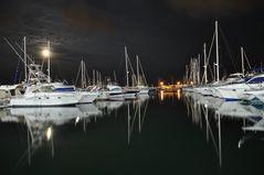 Hafen von Cambrils Spanien