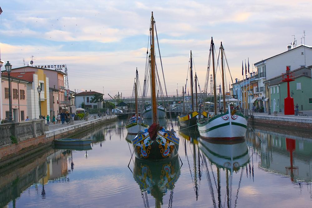 Hafen von Cessenatico