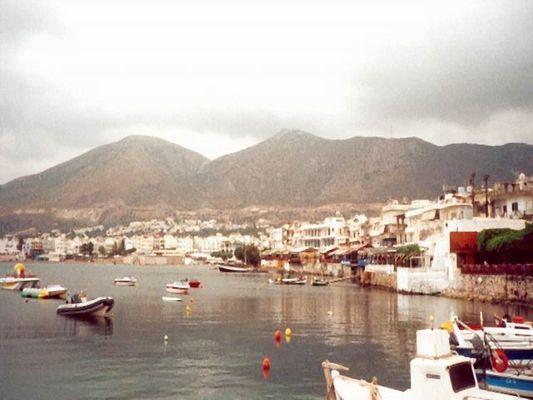 Hafen von Chersonissos/Kreta