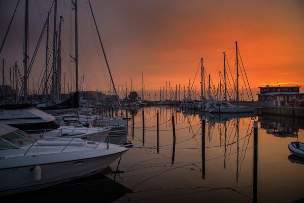 Hafen von Damp