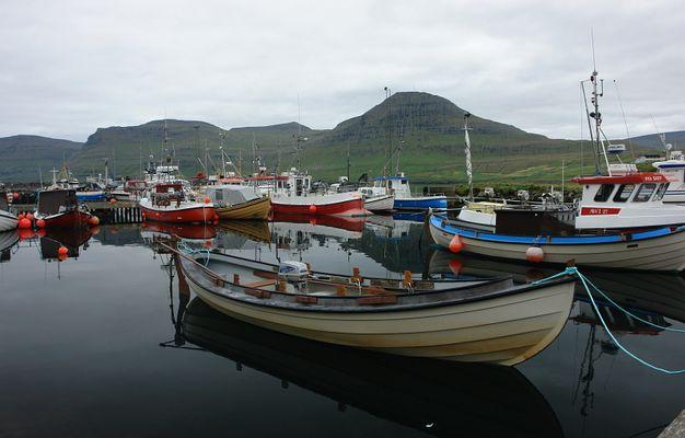 Hafen von Fuglafjördur