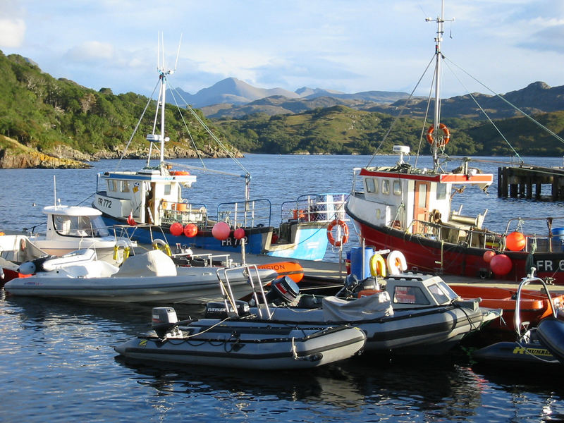 Hafen von Gairloch