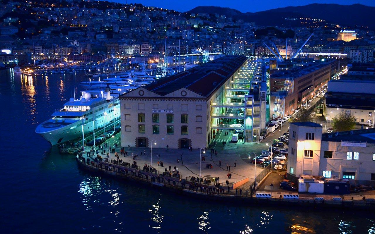 Hafen von Genua...