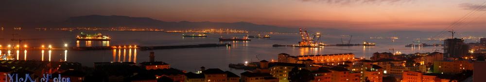 Hafen von Gibraltar