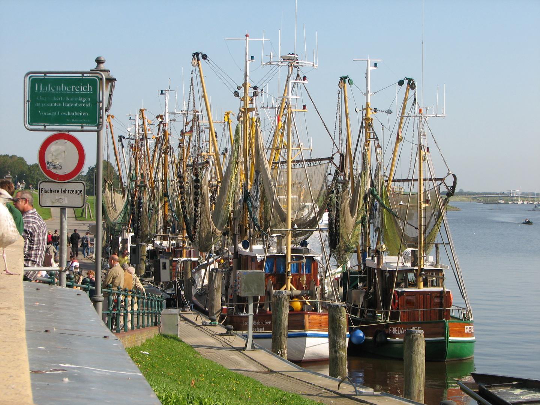 Hafen von Greetsiel 1