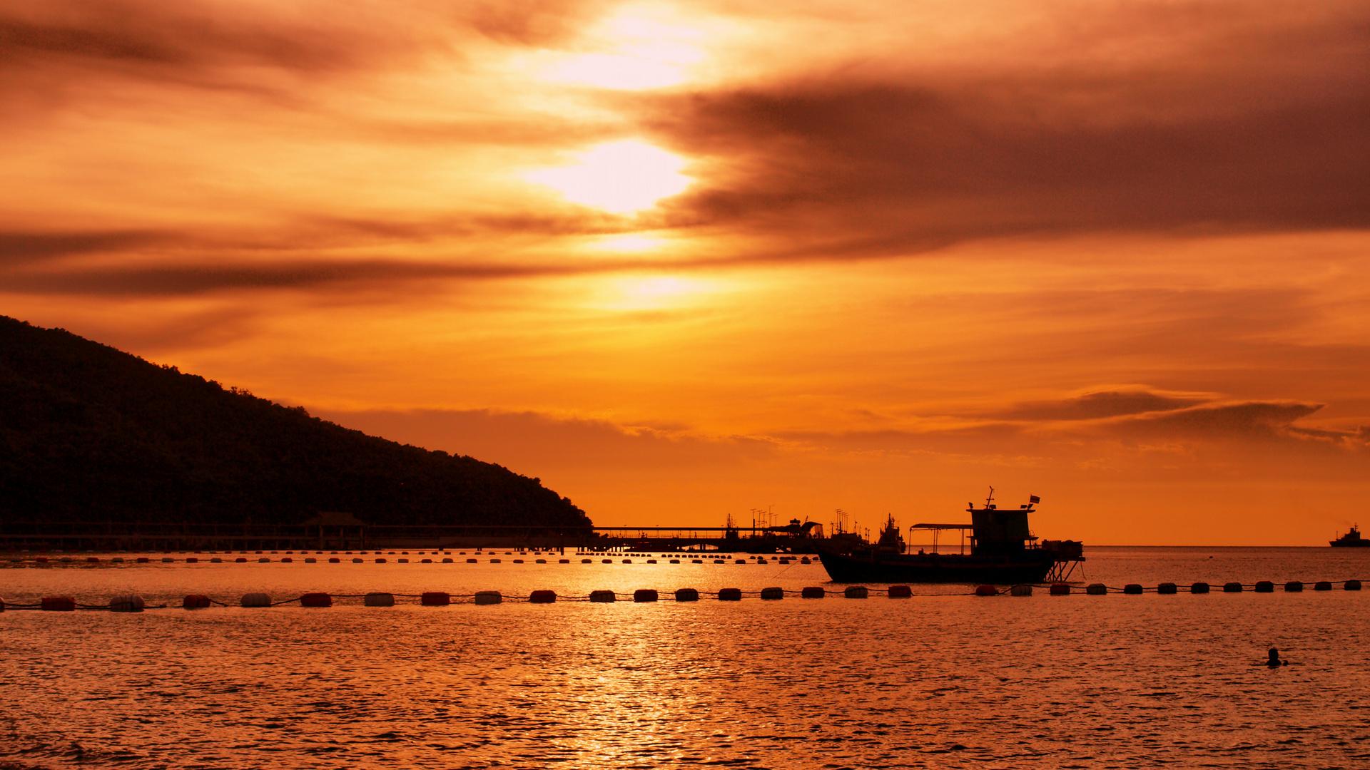 Hafen von Haad Dtaa Waen