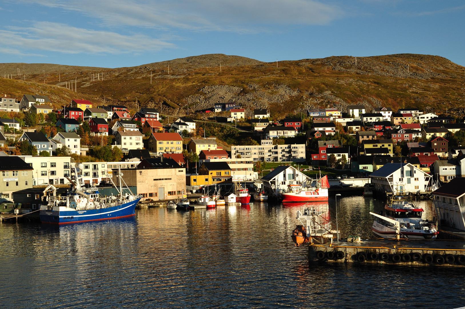 Hafen von Honningsvåg