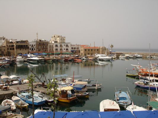 Hafen von Keryneia Nordzypern