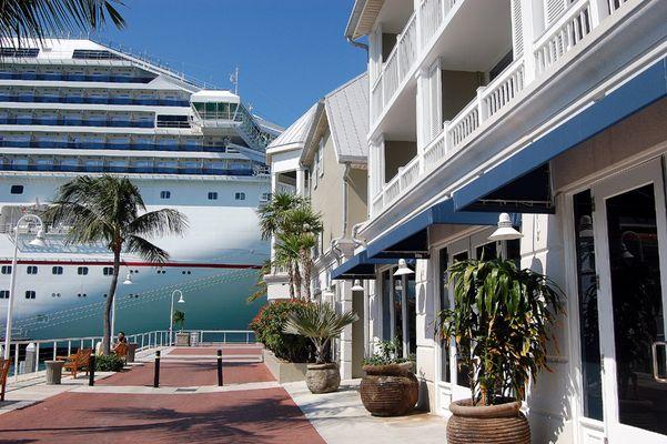 Hafen von Key West: Größenvergleich