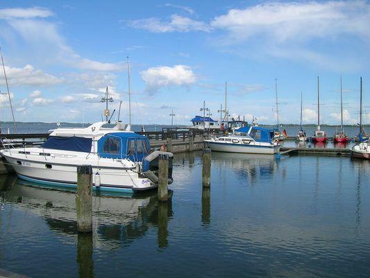 Hafen von Lassan
