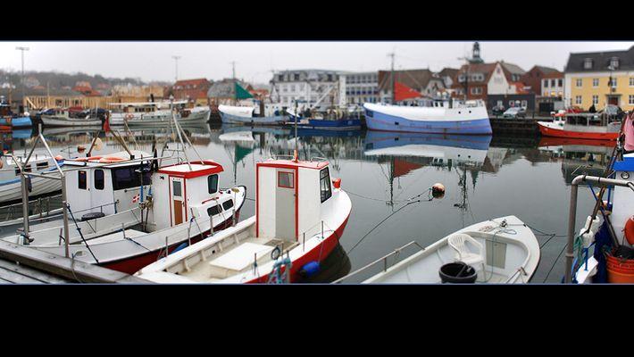 Hafen von Lemvig, DK